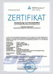GTG Zertifikat_Anlage China